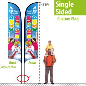 Custom Feather Flag - H13ft